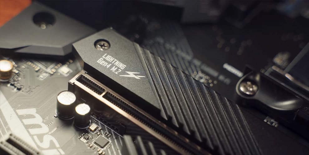 AMD Ryzen X570 Motherboard PCI-e Gen4