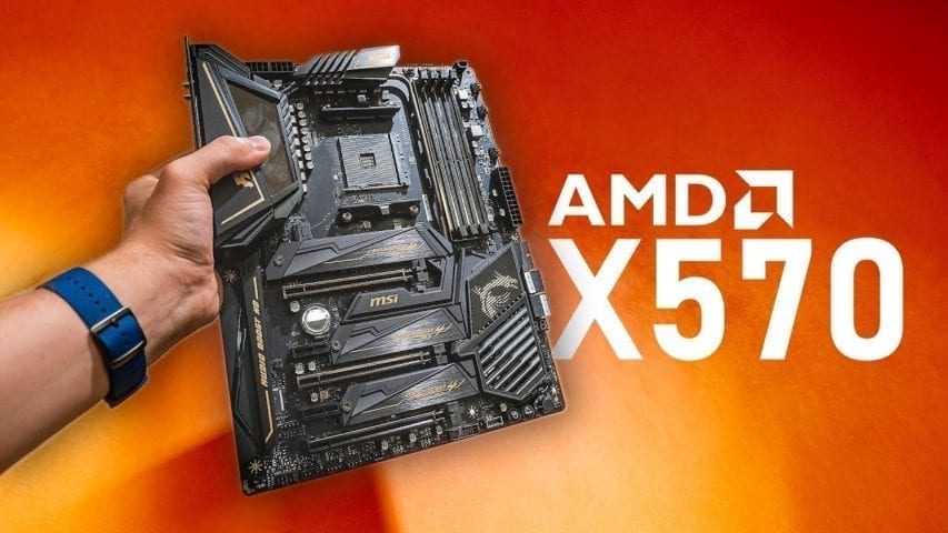 AMD X570 MSI Motherboard