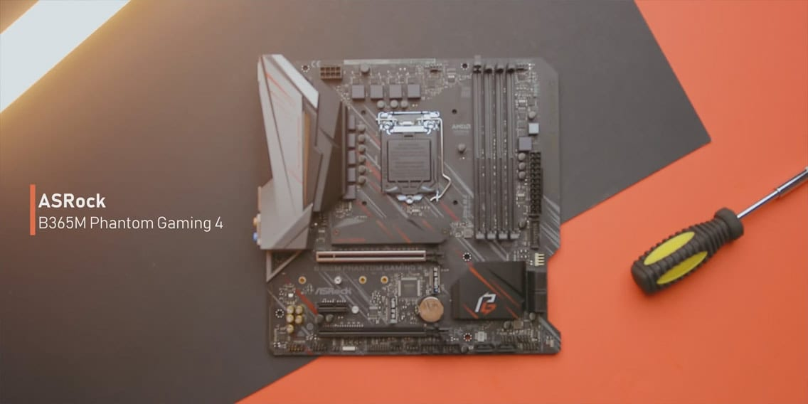 Asrock B365M Phantom Gaming 4 motherboard