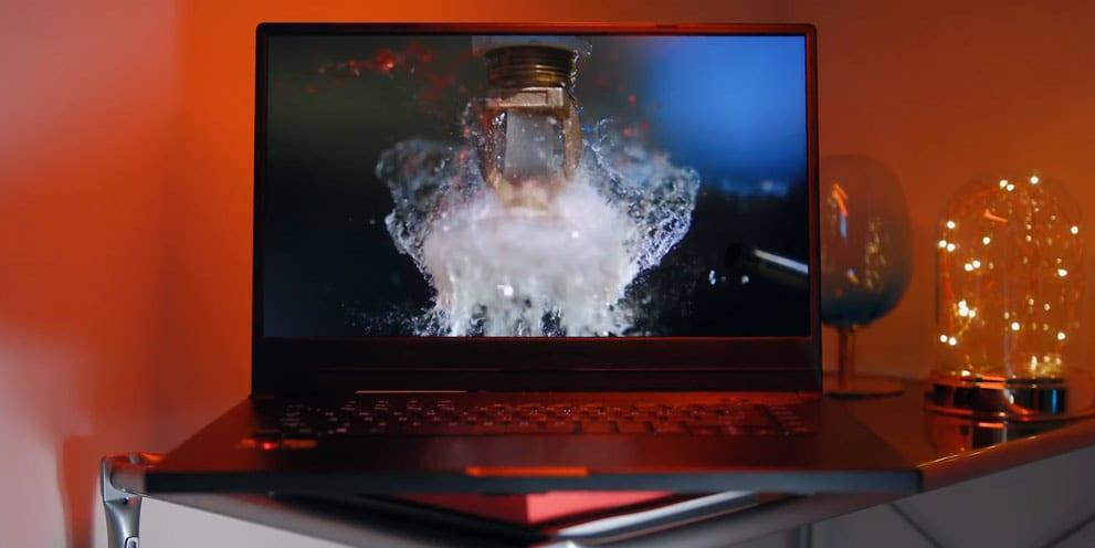 Display LCD screen Asus Ryzen RoG Zehyrus GA502D notebook