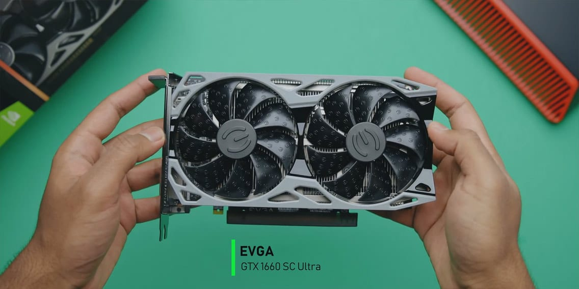 EVGA GTX 1660 SC Ultra video card