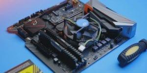 Gaming PC Asrock B365M motherboard