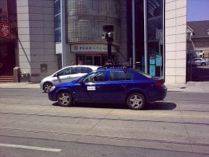 Google_Street_View_Car_in_Chinatown,_Toronto