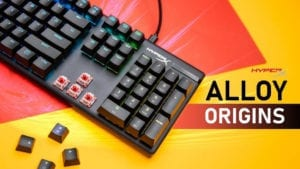 HyperX Alloy Origins Gaming Keyboard