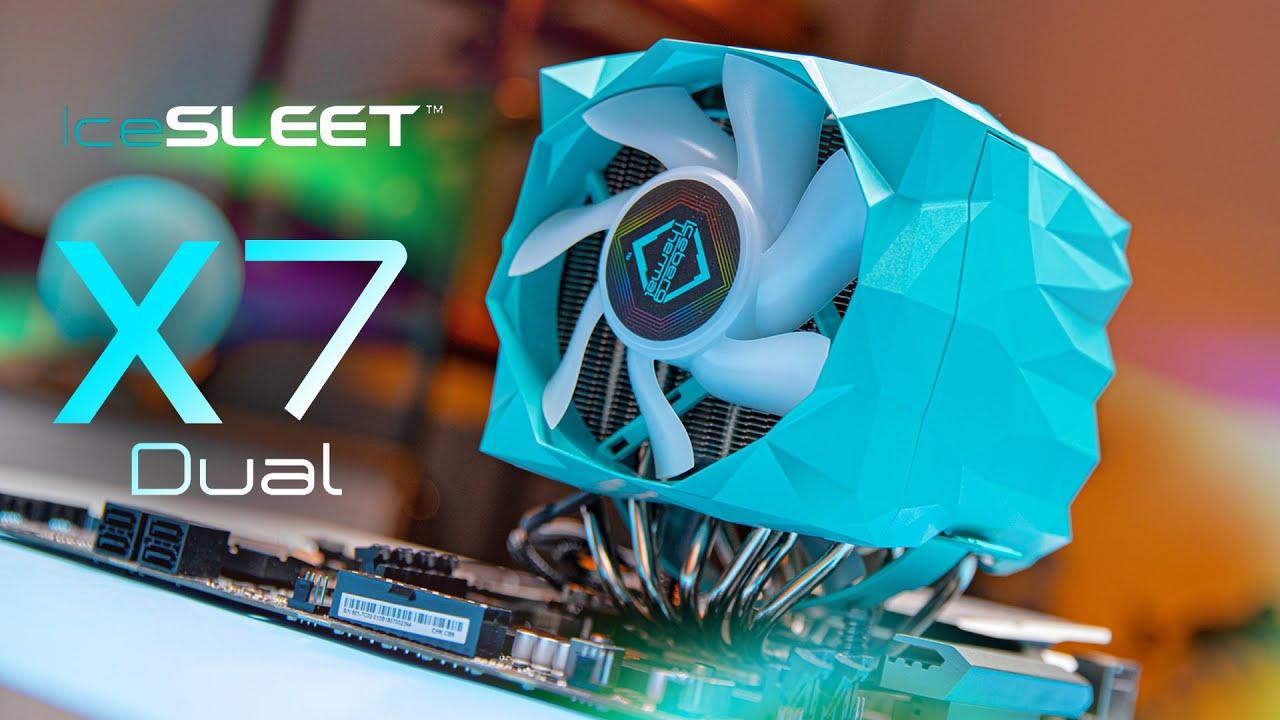 IceSleet X7 Dual – Finally a DIFFERENT CPU Cooler!