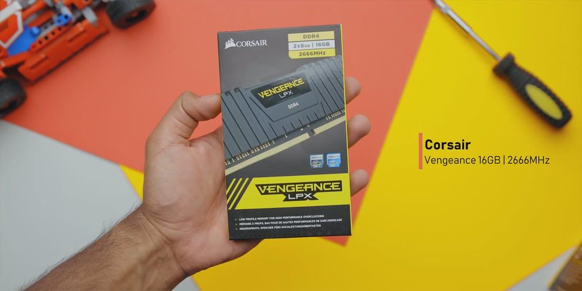 Installing Corsair Vengeance LPX 2666MHz DDR4 memory