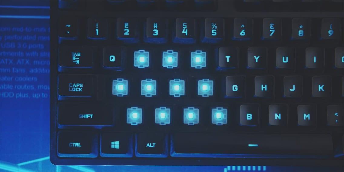 Logitech G Pro X Keyboard illumination