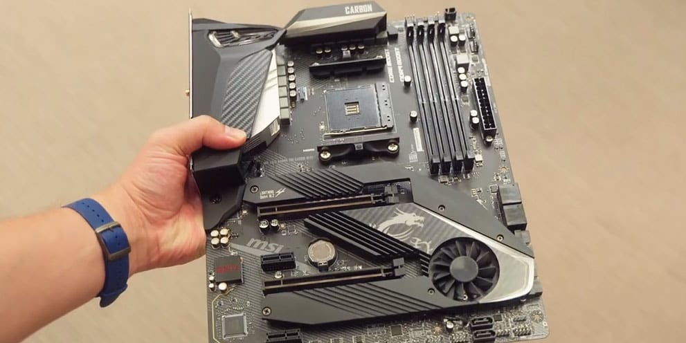 MSI MPG X570 Gaming Pro Carbon Wi-Fi motherboard