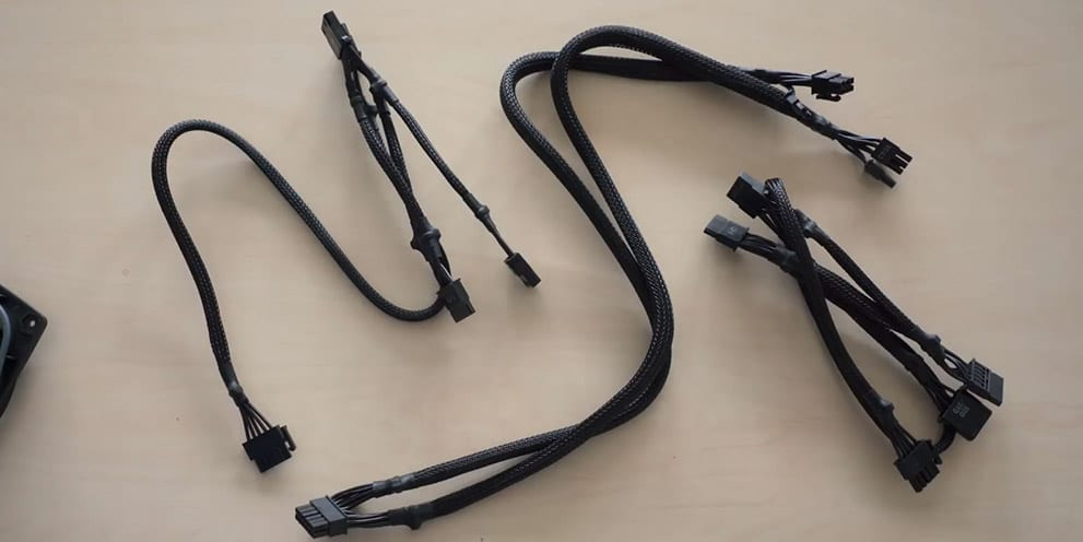 PSU modular cable length