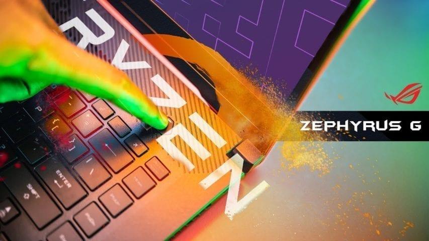 RoG Zehyrus GA502 with Ryzen review
