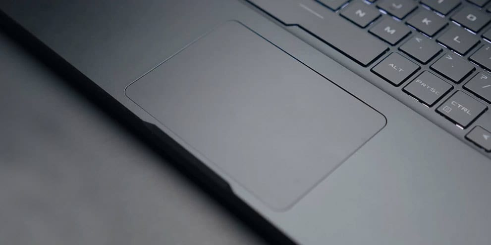 Trackpad on Asus Ryzen RoG Zehyrus GA502D notebook