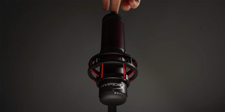 Turn off HyperX Quadcast USB Streaming Microphone