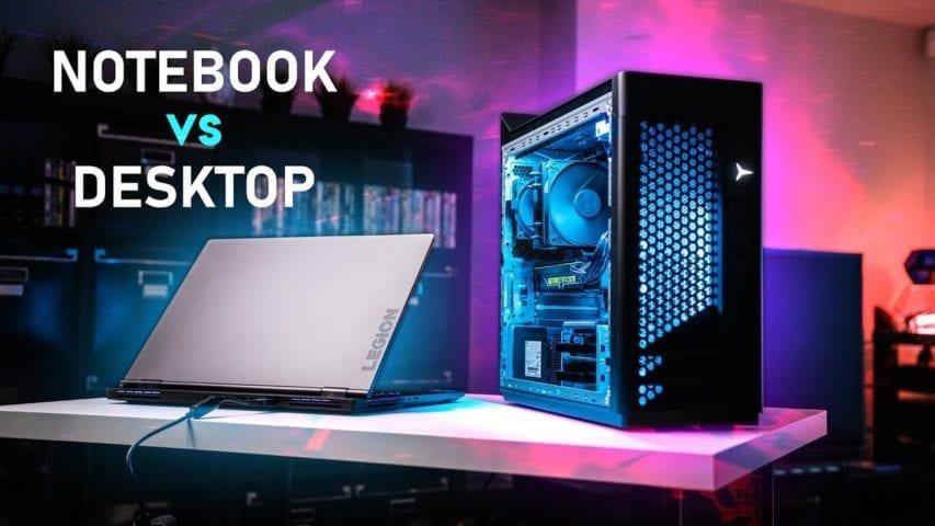 gaming notebook vs desktop