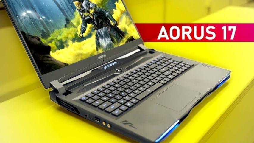 gigabyte aorus 17 gaming notebook