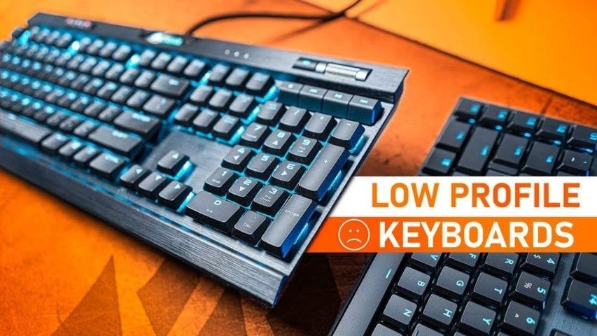 low profile gaming keyboards