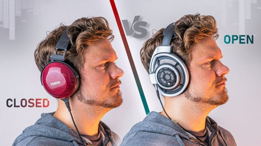 open vs closed back headphones for gaming