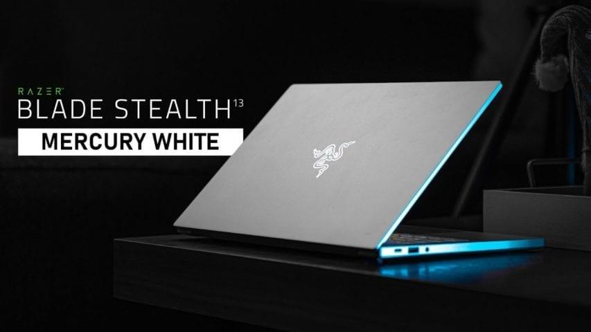 Razer Blade Stealth 13 Mercury White 2019