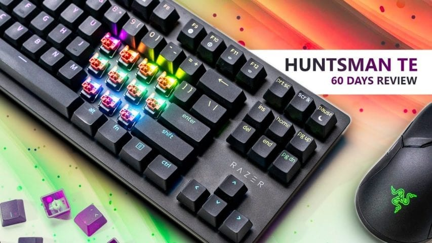 razer huntsman te gaming keyboard