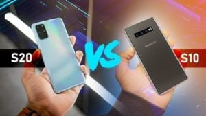 samsung galaxy s20 vs s10