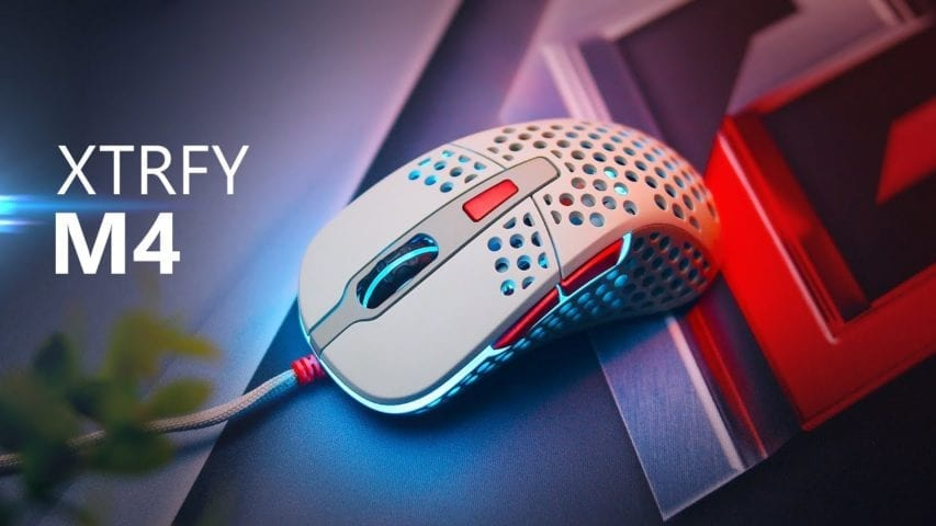 xtrfy m4 gaming mouse